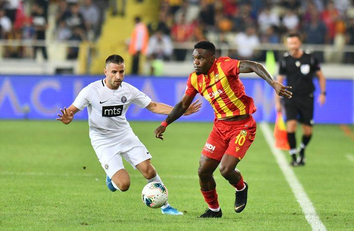 Yeni Malatyaspor 1 - 0 Partizan