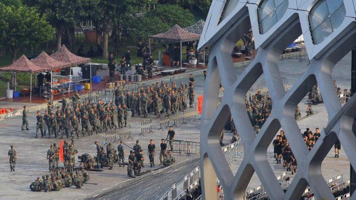 'ÇinHongKong'dakiGösterileriGüçKullanarakBastırabilir'