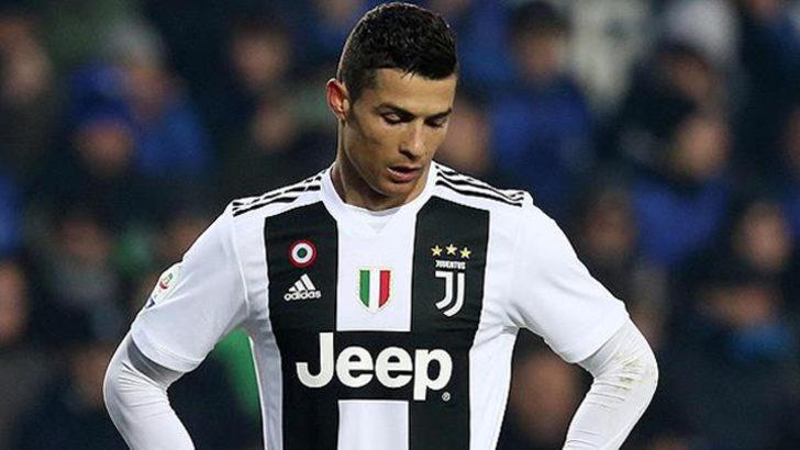 Juventus'ta Cristiano Ronaldo şoku