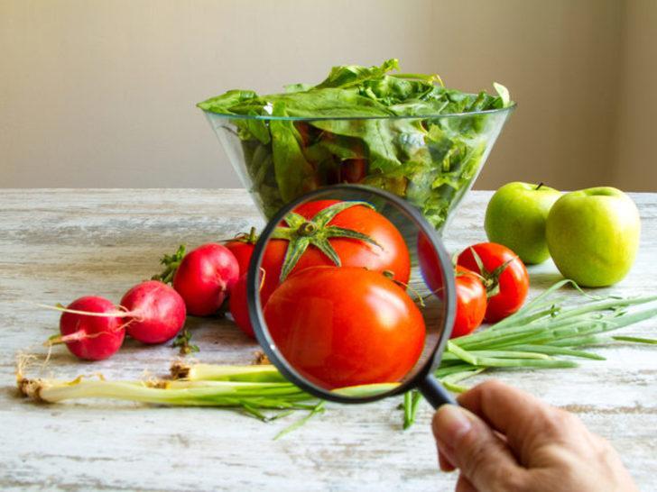 Meyve ve sebzeleri pestisitten arındırmak için karbonatlı su