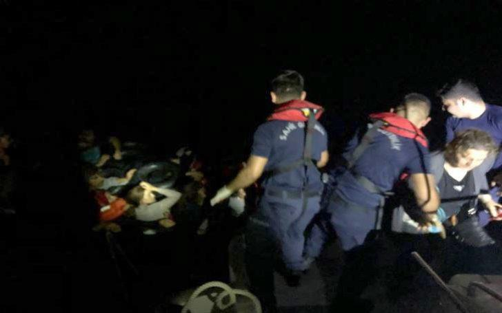 Mobil radarın tespit ettiği kaçaklar yakalandı