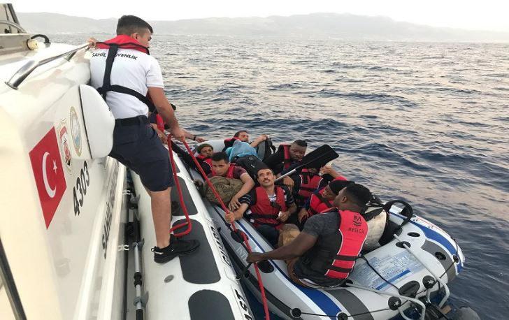 Zor durumdaki kaçaklar kurtarıldı