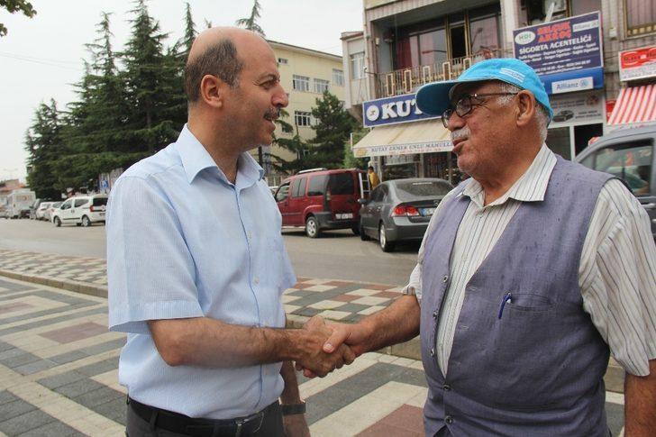 Başkan Bozkurt çevre temizliği çalışmalarını inceledi