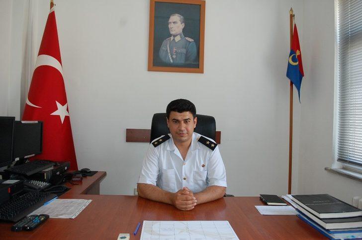 Malkara jandarmaya Üsteğmen Oktay Oğuz atandı