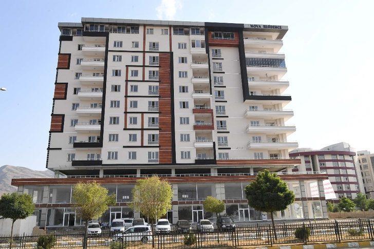 Muş Belediyesi'nin kat karşılığı rezidans projesi tamamlandı
