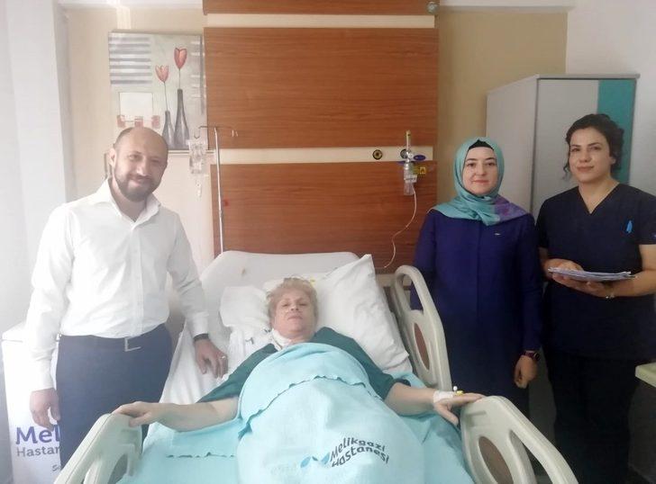 Bu ameliyat dünyada 17. Türkiye'de ise 2. kez gerçekleşti