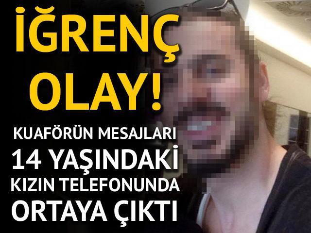 Antalya'da iğrenç olay! Telefondaki mesajlarda ortaya çıktı