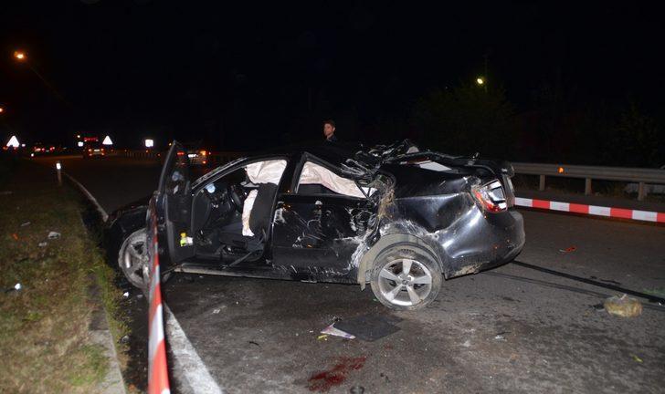 Samsun'da düğün dönüşü feci kaza: Yaralılar var!