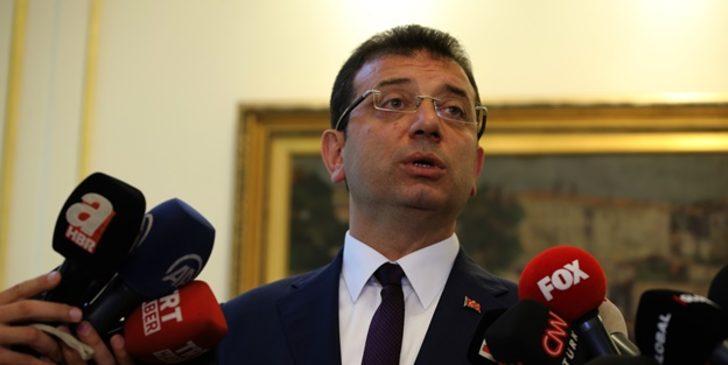 Ekrem İmamoğlu'ndan HDP'li belediye başkanlarının görevden alınmaları hakkında açıklama