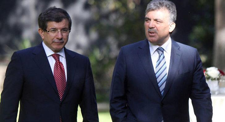 Abdullah Gül ve Ahmet Davutoğlu'ndan belediyelerdeki görevden almalara tepki