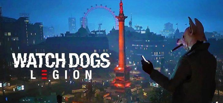 gamescom 2019: Watch Dogs Legion'dan Yeni Fragman!