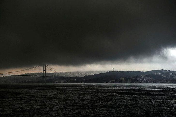 Meteoroloji Istanbul'u uyarmisti! Korkutan görüntü