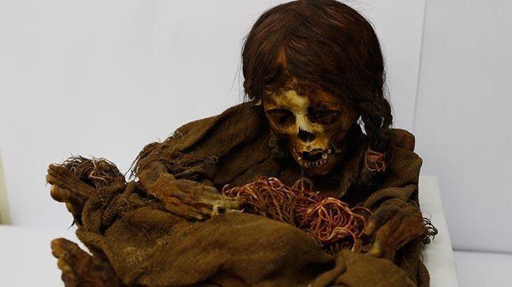 Tam 500 yaşında! İnka kızı Bolivya'ya geri gönderildi!