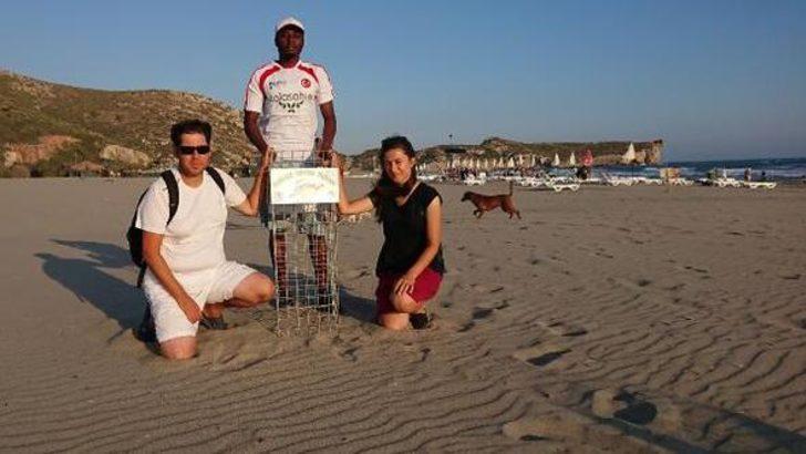 Patara Plajı'nda 201 yuva belirlendi