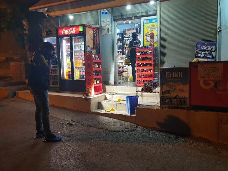 İzmir'de markete silahlı saldırı!