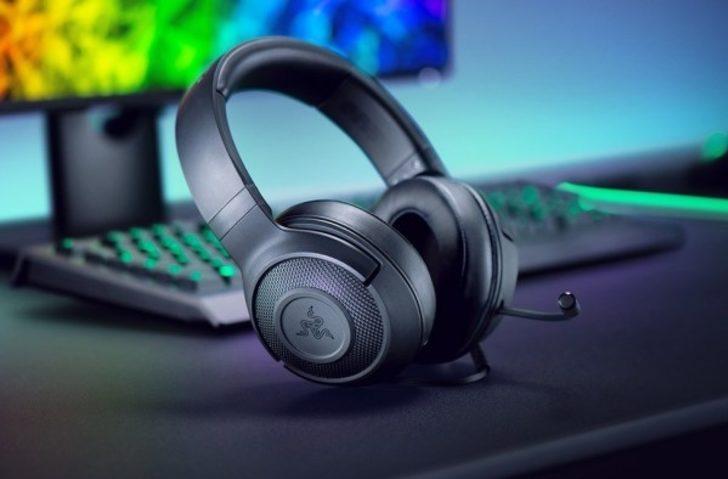 Razer Kraken X : Giriş seviyesi oyuncu kulaklığı