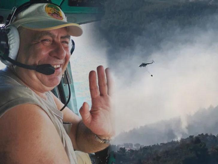 İzmir yangınında görev yapan kahraman pilot ölü bulundu!