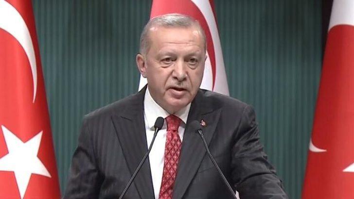 Cumhurbaşkanı Erdoğan'dan 'Doğu Akdeniz' mesajı!