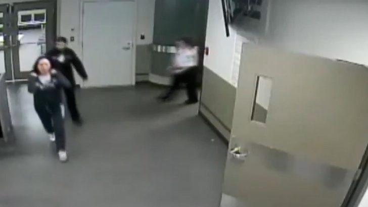 Huawei sahibinin kızının tutuklanma görüntüleri yayınlandı