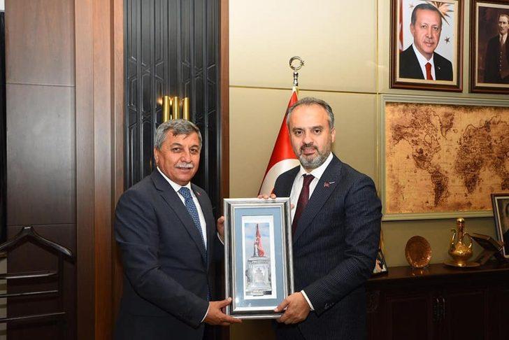 Başkanlar Bursa ziyareti