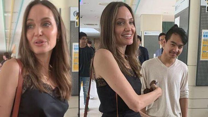 Angelina Jolie'nin duygusal anları