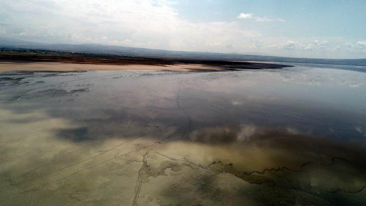 Turistlerin yeni gözdesi Tuzla Gölü olacak
