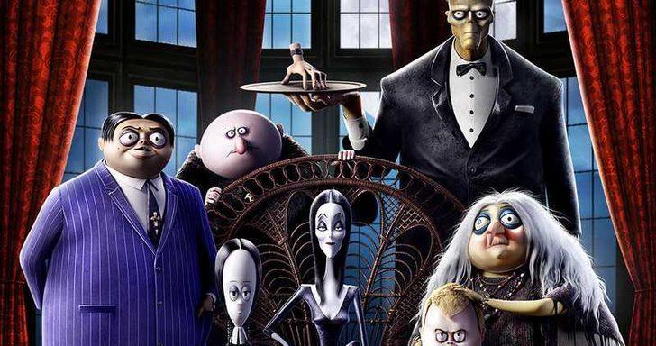 Addams Ailesi'nden Türkçe afiş