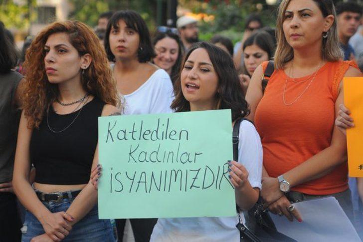 Eskişehirli kadınlar Emine Bulut cinayetini protesto etti