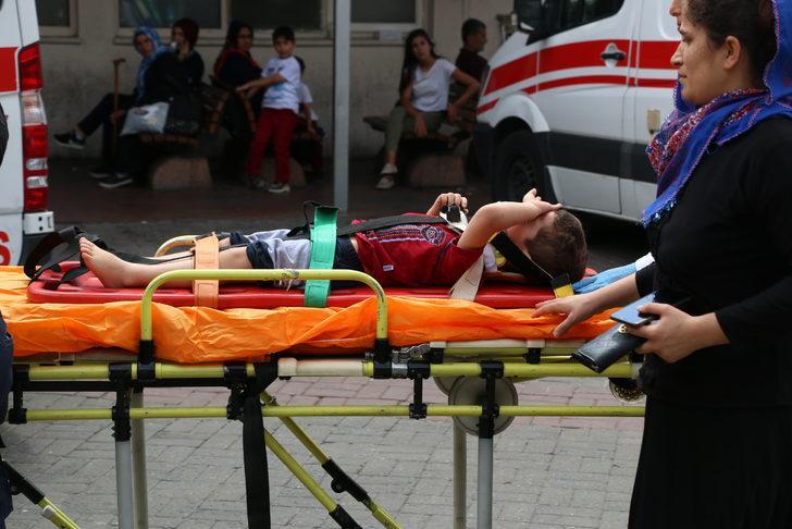 Beyoğlu'nda 5 yaşındaki çocuk pencereden düşüp yaralandı