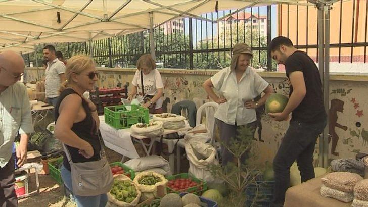 Ankaralılardan organik ürünlere yoğun ilgi