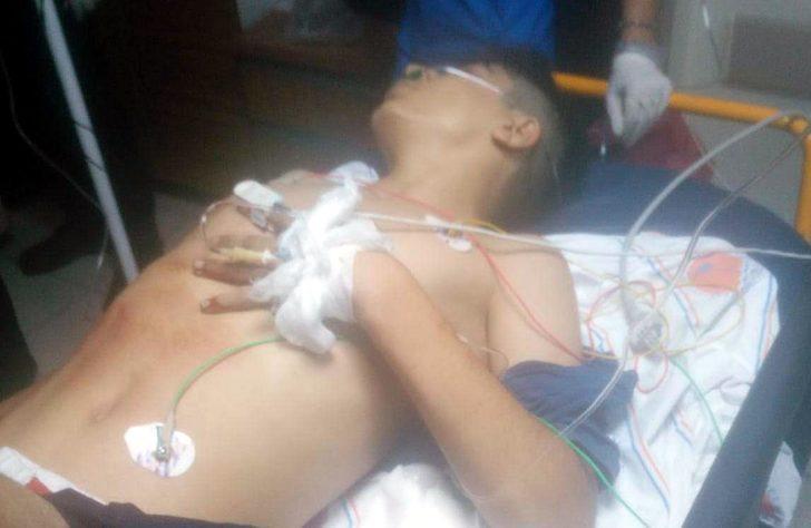 Lastikçiye silahlı saldırıda 14 yaşındaki Hakan öldü