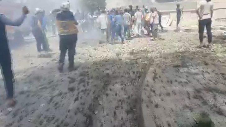 İdlib'de bombalı saldırı: 1 ölü, 8 yaralı