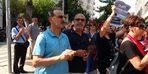 Kadın şiddetine karşı gerçekleştirilen yürüyüşe erkekler de destek verdi