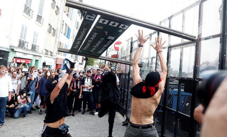 Avrupa ülkesi karıştı! G7 Zirvesi olaylarla başladı: 68 gözaltı