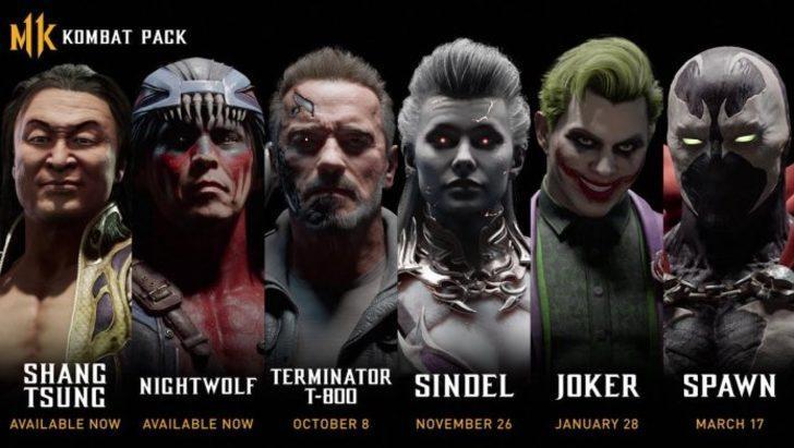 Merakla beklenen Mortal Kombat 11 Kombat Pack bugün açıklandı