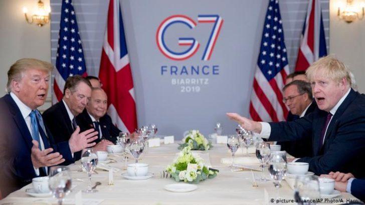 Trump ve Johnson Brexit'ten sonrasını planlıyor