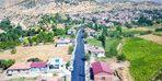 Doğanşehir'de asfalt çalışması