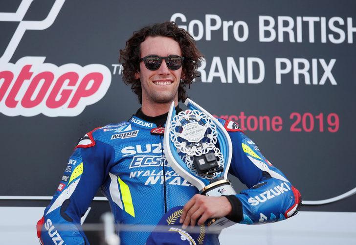 MotoGP Büyük Britanya'da zafer Alex Rins