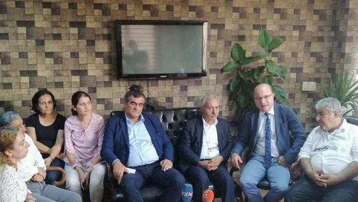 CHP'den HDP'ye Dayanışma Ziyareti
