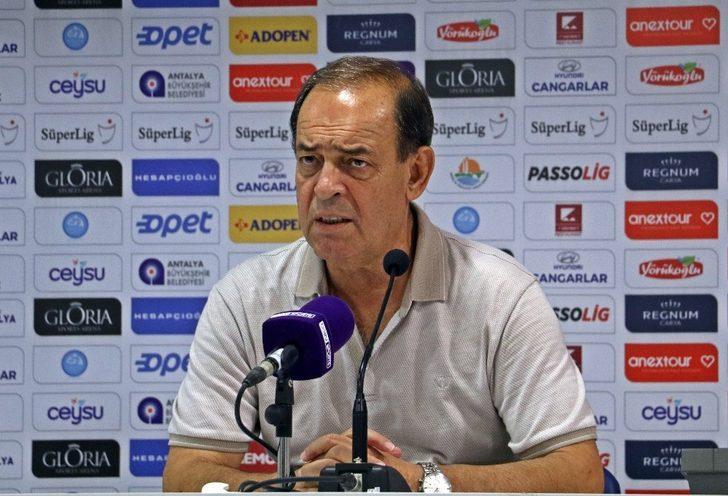 """Yücel İldiz: """"Antalyaspor gibi zor bir takımı yendiğimiz için tabi ki mutluyuz"""""""