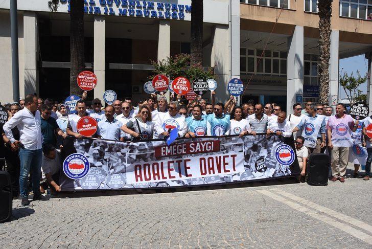 İzmir'de Memur-Sen'den Hakem Kurulu'na çağrı