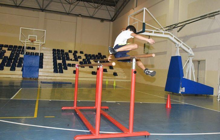 Küçükçekmece'de ücretsiz spor yetenek sınavlarına hazırlık kursu