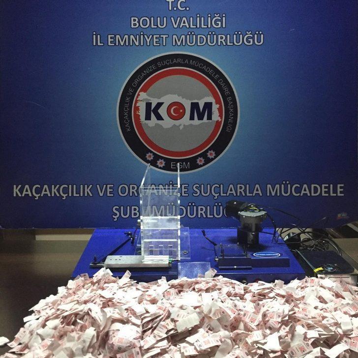 Bolu'da kaçak tütün operasyonu: 2 gözaltı