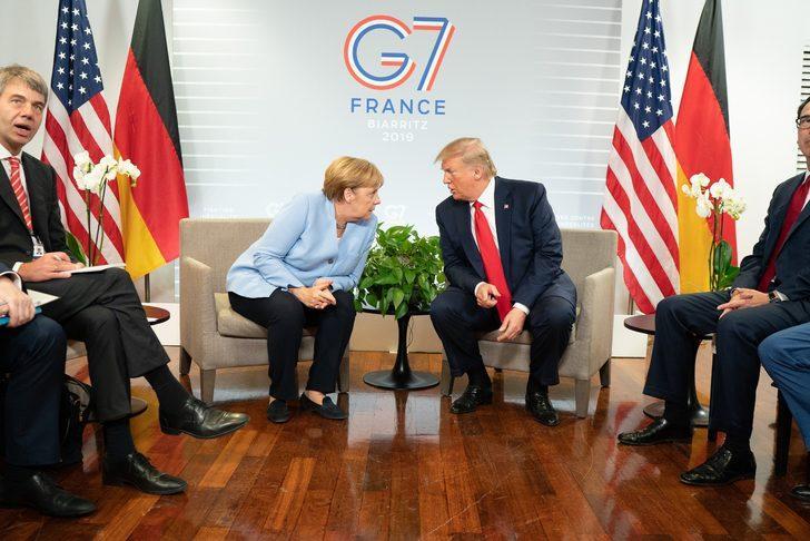 Trump - Merkel görüşmesinde gündem İran ve Çin'di