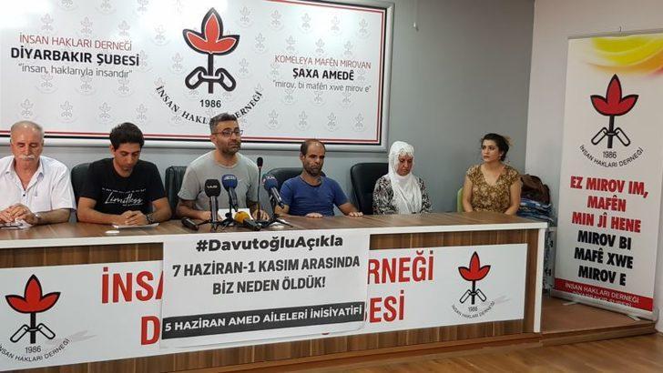 Mağdur Ailelerinden Davutoğlu'na Çağrı: 'Açıkla'