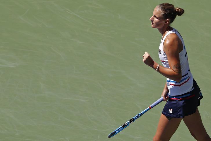 ABD Açık'ta Karolina Pliskova ve Kei Nishikori ikinci turda