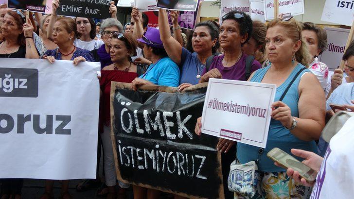 İzmirli kadınlar Emine Bulut için tek yürek oldu
