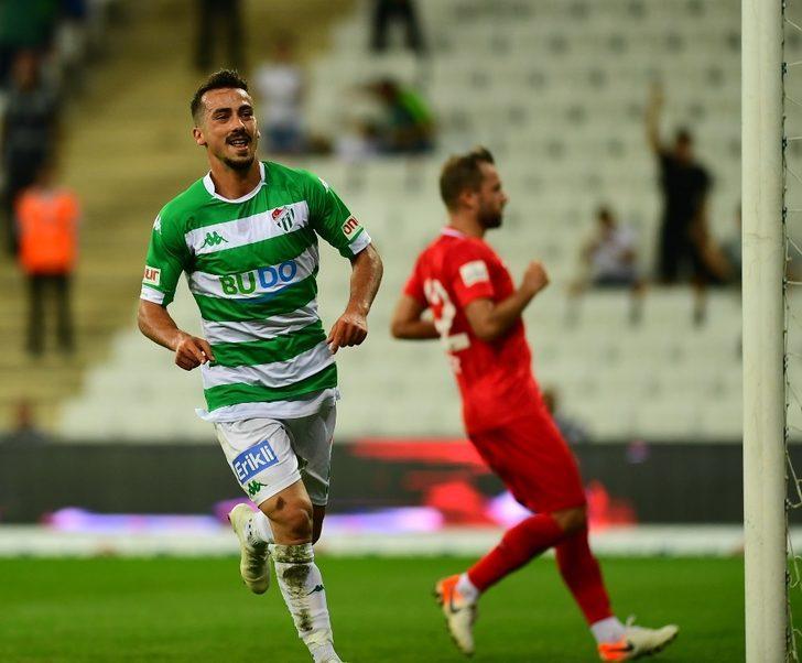 Bursaspor'un gençleri ışıldadı