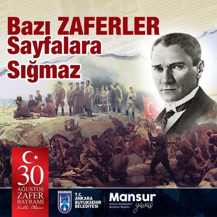 Başkent 30 ağustos Zafer Bayramı kutlamalarına hazır