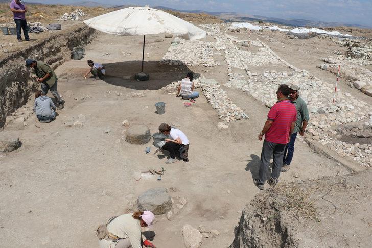 Amasya'daki kazıda 2500 yıllık 'posta merkezi' kalıntıları bulundu